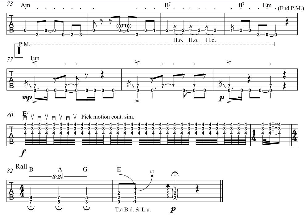 GuitarScribe - Home of Custom Guitar Transcriptions